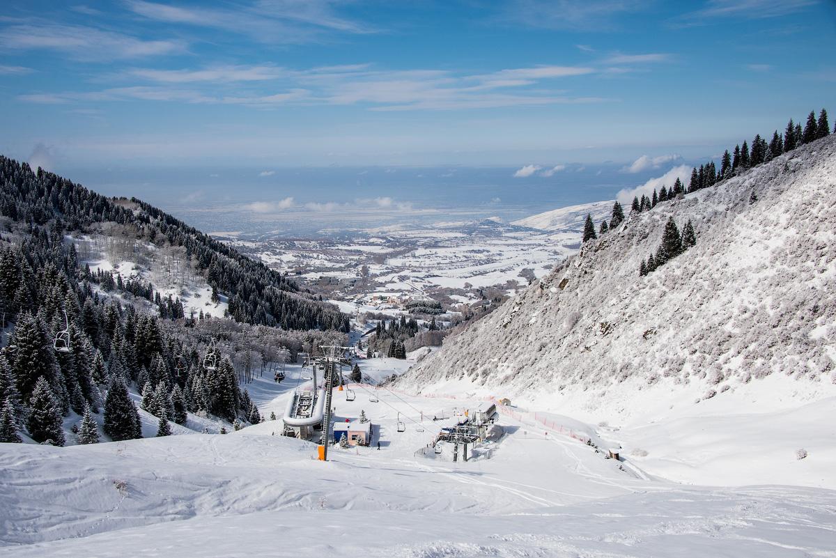 Казахстан 2015. Чарынский каньон, горные лыжи на Чимбулаке и Ак-Булаке.